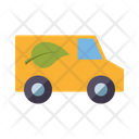 Ecological Vehicl Eecological Truck Ecological Van Icon