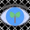 View Eye Leaf Icon