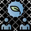 Ecologist Plant Green Icon