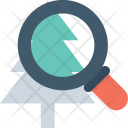 Ecology Magnifier Fir Icon