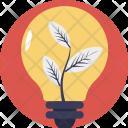 Ecology Plant Bulb Icon