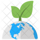 Ecology Eco Friendly Earth Day Icon