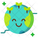 Green Earth Ecology Icon