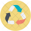 Ecology Concept Recycle Icon