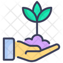 Care Ecology Plant Icon