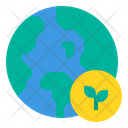 Earth Ecology World Icon