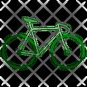 Ecology Bike Transport Icon