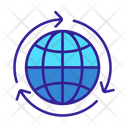 World Global Industrial Icon