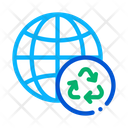 Planet Earth Ecology Icon