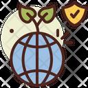 Ecology Globe Eco Friendly Earth Icon