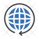 Ecology Earth Global Icon