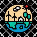 Ecology World System Icon