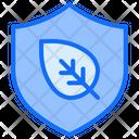 Ecology Leaf Protection Icon