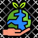 Ecology Earth World Icon