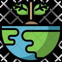 Ecology Environment Sustainability Icon