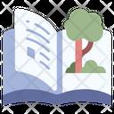 Garden Book Nature Icon