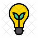 Energy Green Light Icon