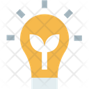 Green Electricitym Ecology Bulb Bulb Icon