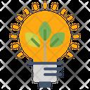 Electricity Energy Saving Icon Icon