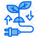 Eco Ecology Energy Icon