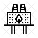 Ecology Clean Factory Icon