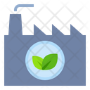 Industry Green Recycle Icon