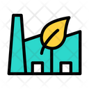 Ecology Factory Industry Power Icon