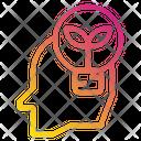 Human Idea Leaf Icon