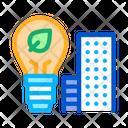 Smart City Eco Icon