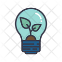 Ecology Light Bulb Icon