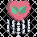 Ecology Love Environment Love Globe Love Icon