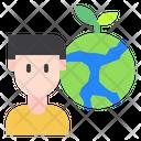 Ecology Man Icon