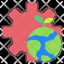 Eco Ecology Management Icon