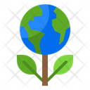 Ecology Plant Global Plant Earth Plant Icon