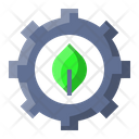 Leaf Settings Ecology Icon