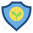 Ecology Shield Icon