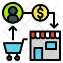Ecommerce Sell Buy Icon