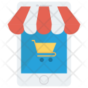 Ecommerce Mobile Shopping Icon