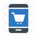Ecommerce Trolley Mobile Icon