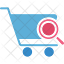 Ecommerce Market Research Online Shopping Icon