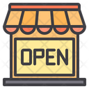 Open Ecommerce Online Store Icon