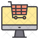 Online Shopping Ecommerce Online Store Icon