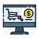 Ecommerce Online Shopping Online Shopping Website Icon