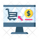 Online Shopping Online Shopping Website Website Icon