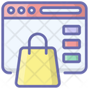 Ecommerce Online Shopping Digital Shopping Icon