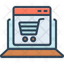 Ecommerce Online Shopping Icon