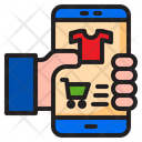 Mobilephone Ecommerce Shopping Icon