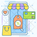 Shopping App Mobile App Mobile Shopping Icon