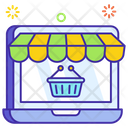 Ecommerce Online Shop Online Shopping Icon