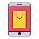 Mobile Shopping Ecommerce Icon